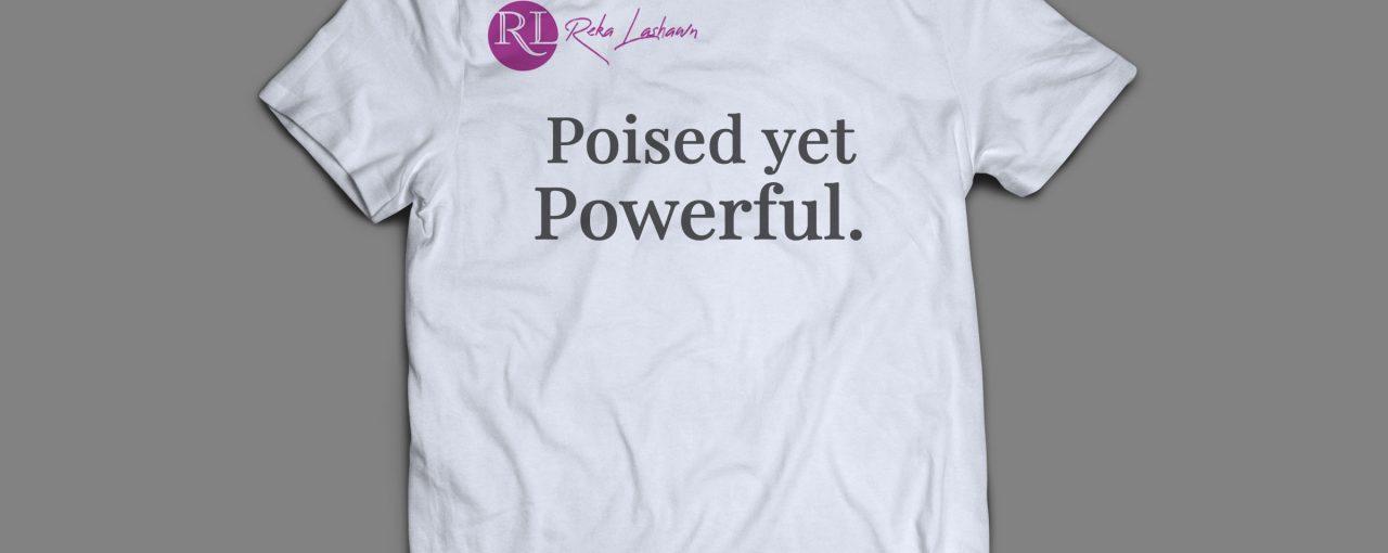 """Poised"" T-Shirt (White)"