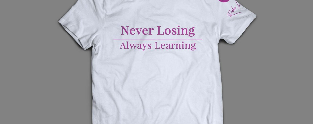 """Never Losing"" T-Shirt (White)"