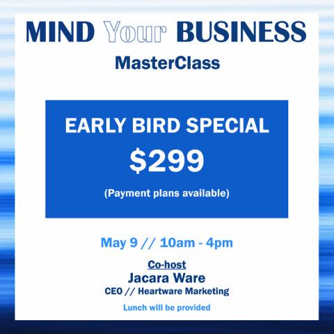Mind your Business Masterclass